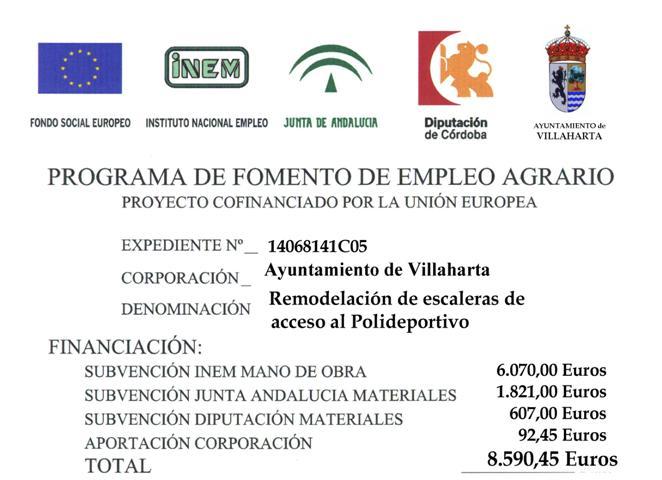 SUBVENCIONES RECIBIDAS 2014 1
