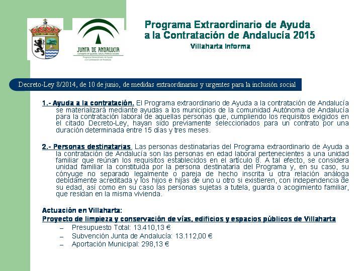 SUBVENCIONES RECIBIDAS. 2015 6