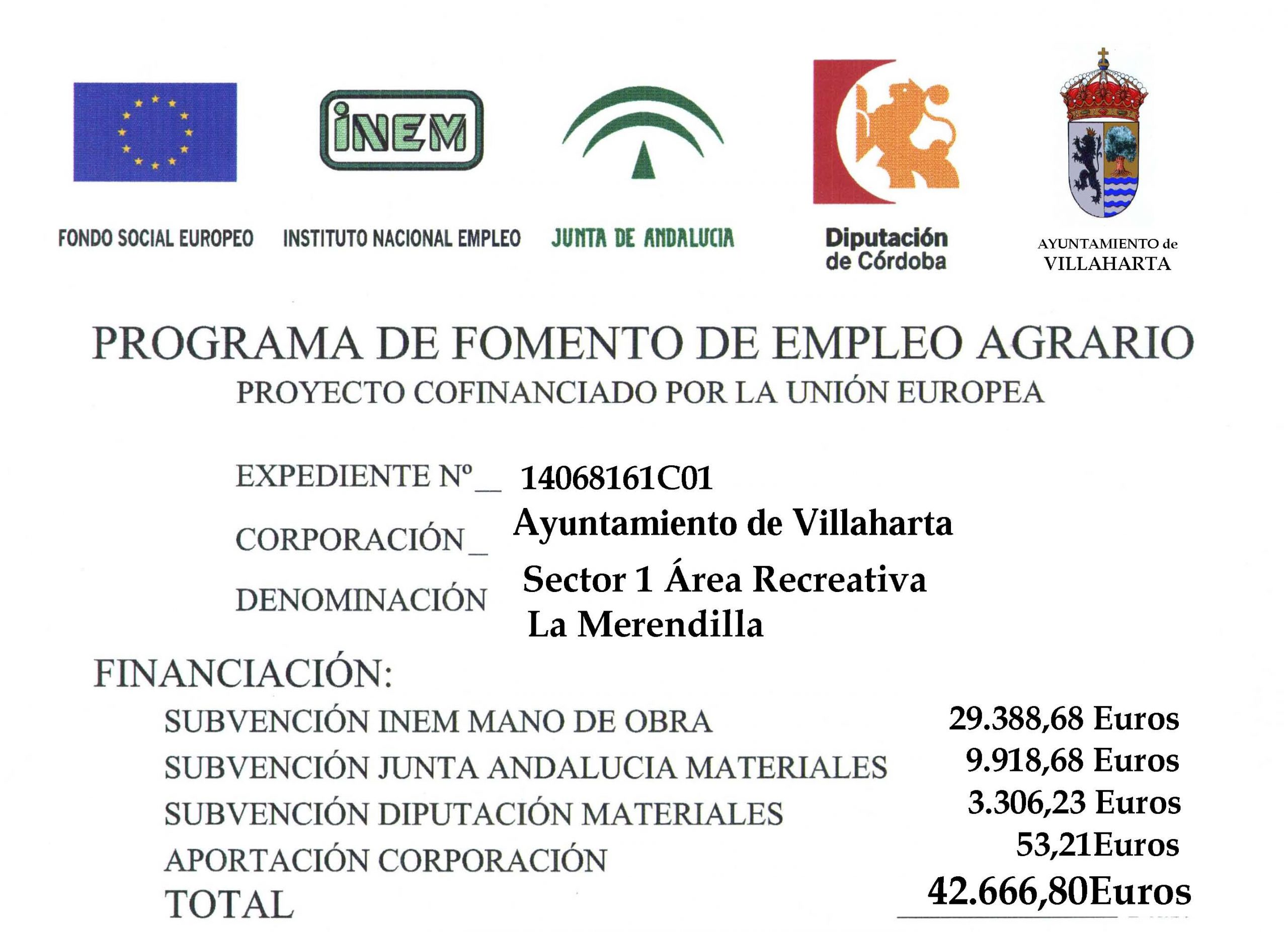 PROGRAMA DE FOMENTO DEL EMPLEO AGRARIO 2016 1