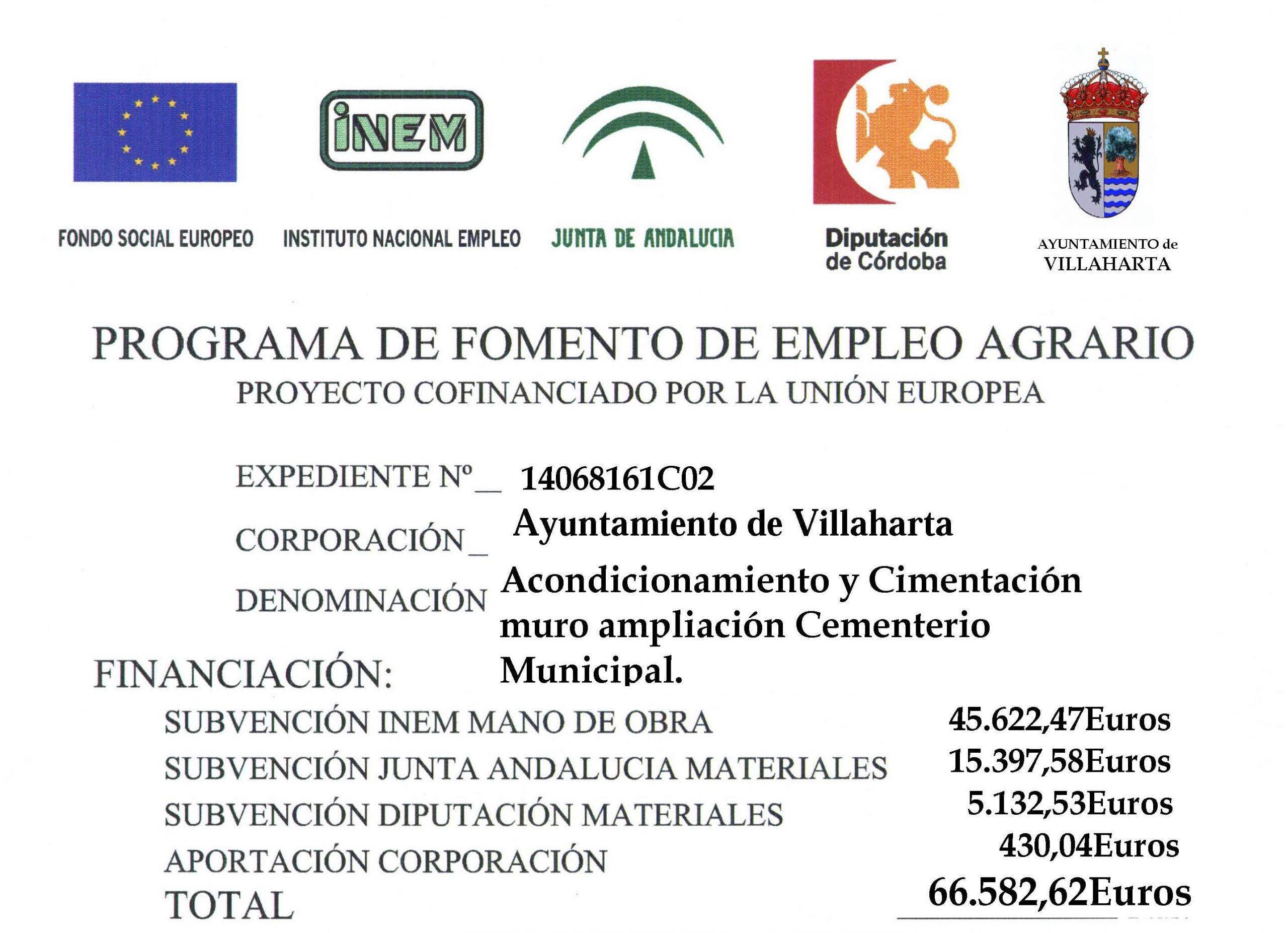 PROGRAMA DE FOMENTO DEL EMPLEO AGRARIO 2016 3
