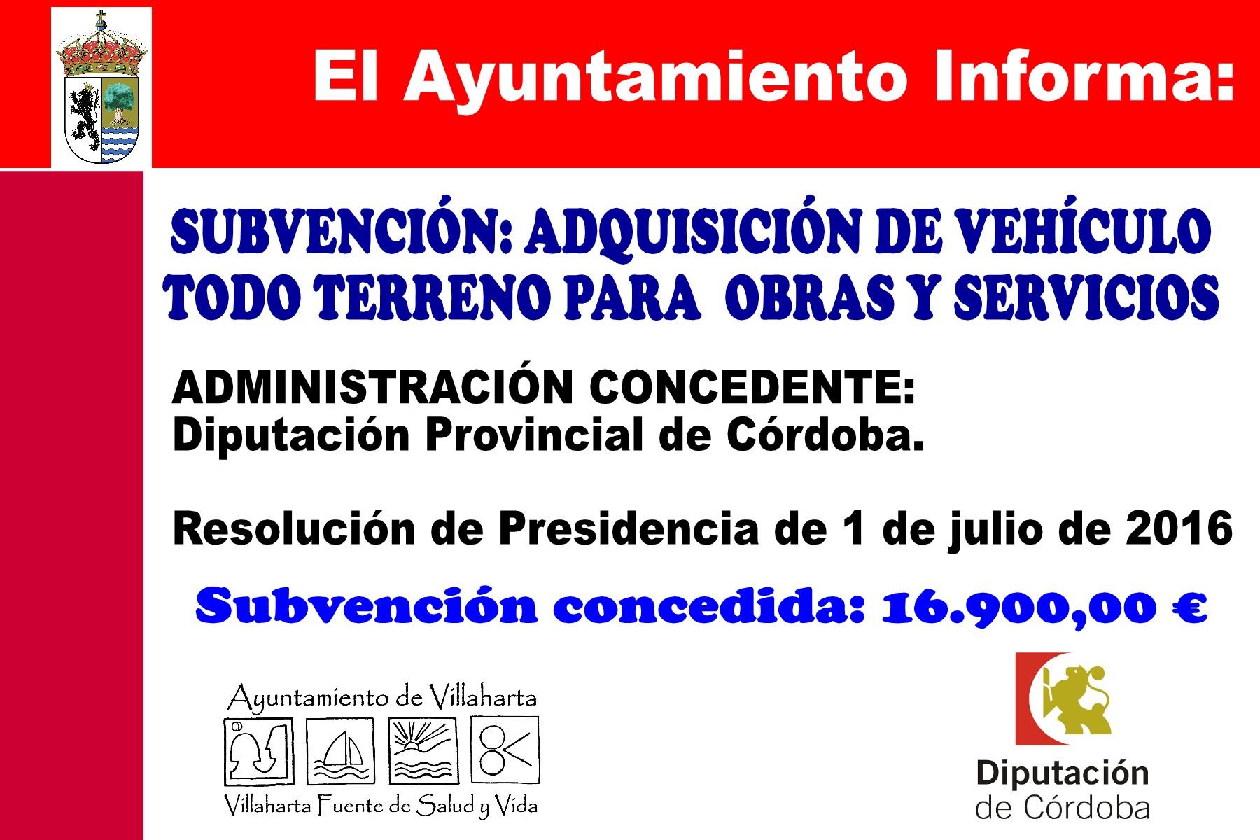 SUBVENCIONES RECIBIDAS. 2016 19