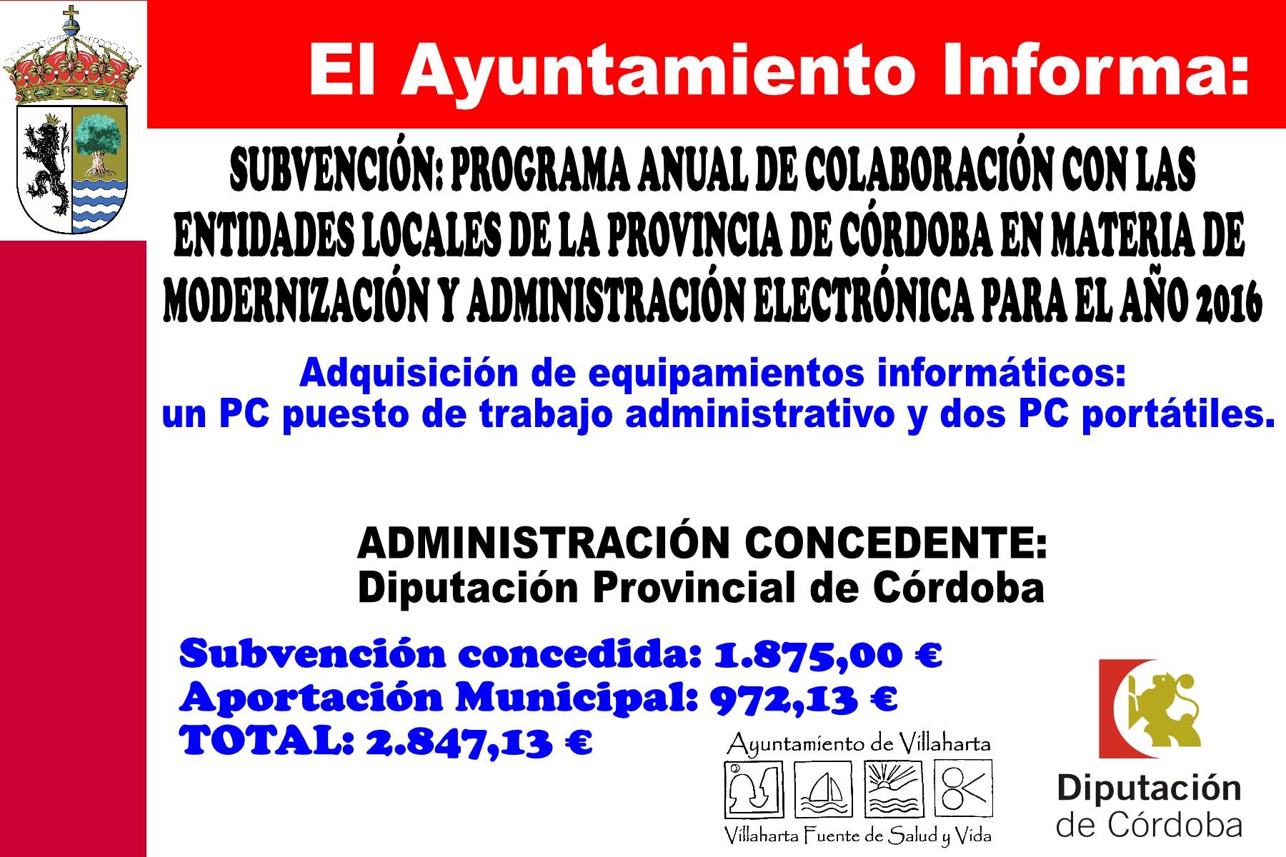 SUBVENCIONES RECIBIDAS. 2016 7