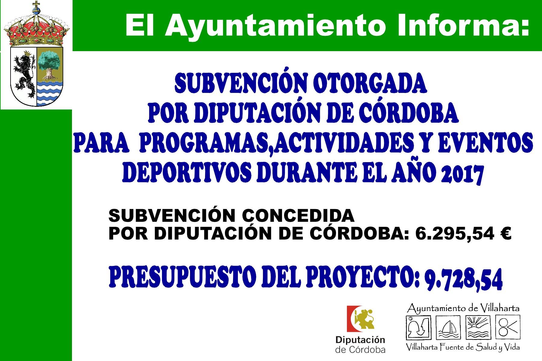 SUBVENCIONES RECIBIDAS. 2017 16