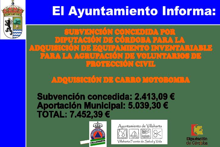 SUBVENCIONES RECIBIDAS. 2017 12