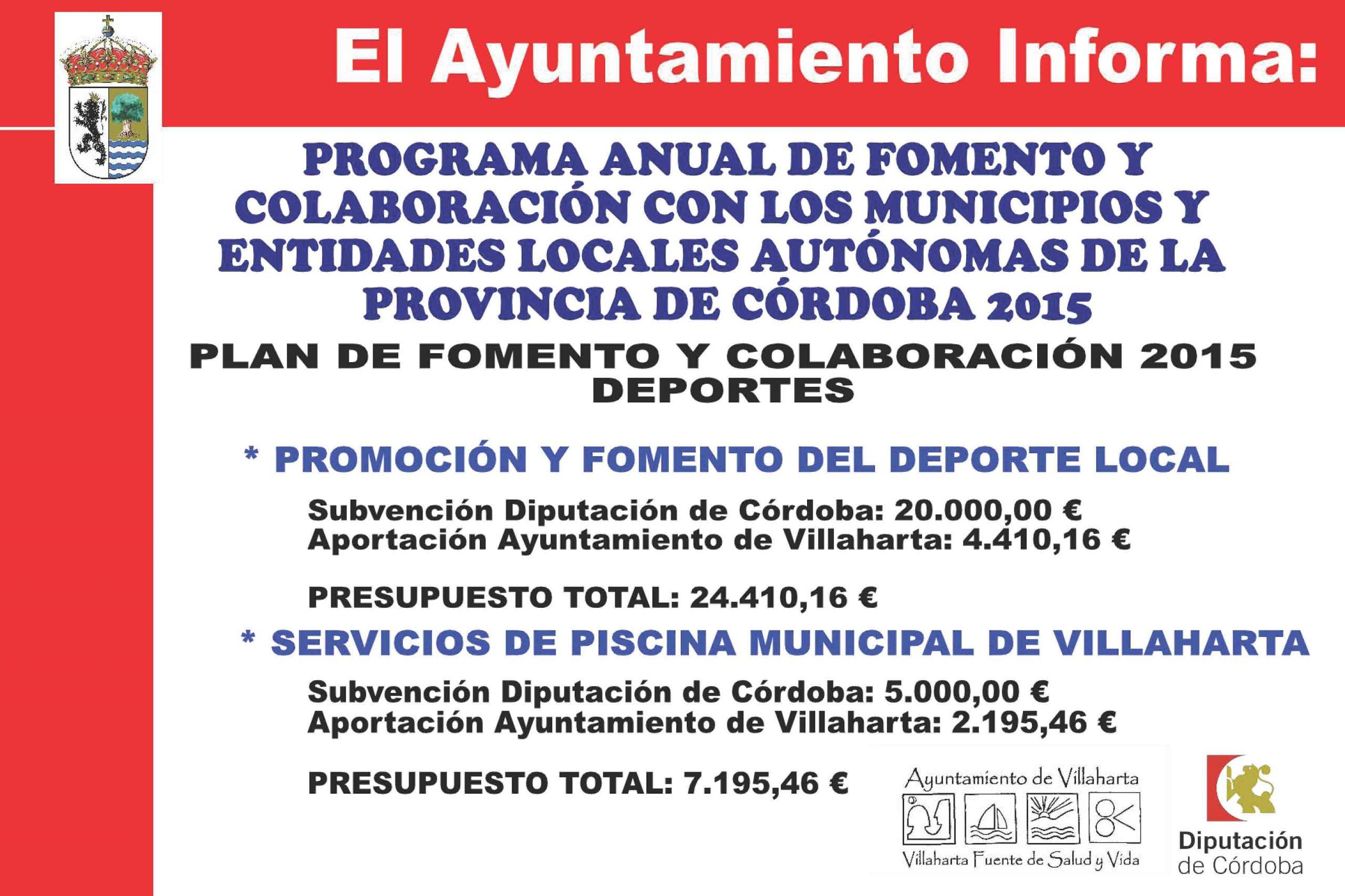 SUBVENCIONES RECIBIDAS. 2015 12