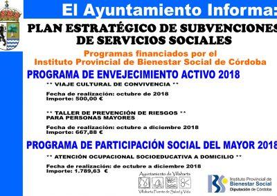 SUBVENCIONES RECIBIDAS. 2018 4