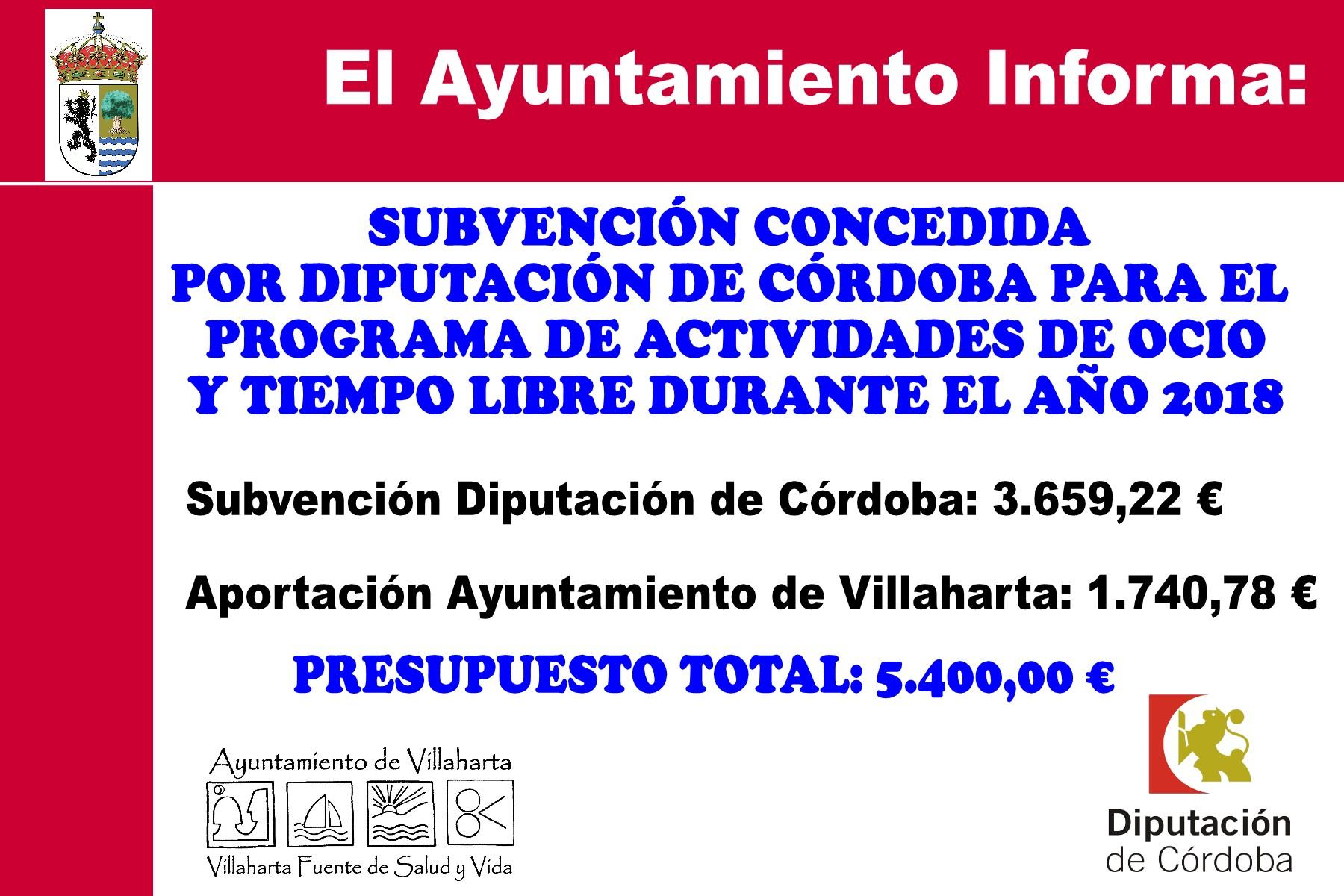 SUBVENCIONES RECIBIDAS. 2018 15
