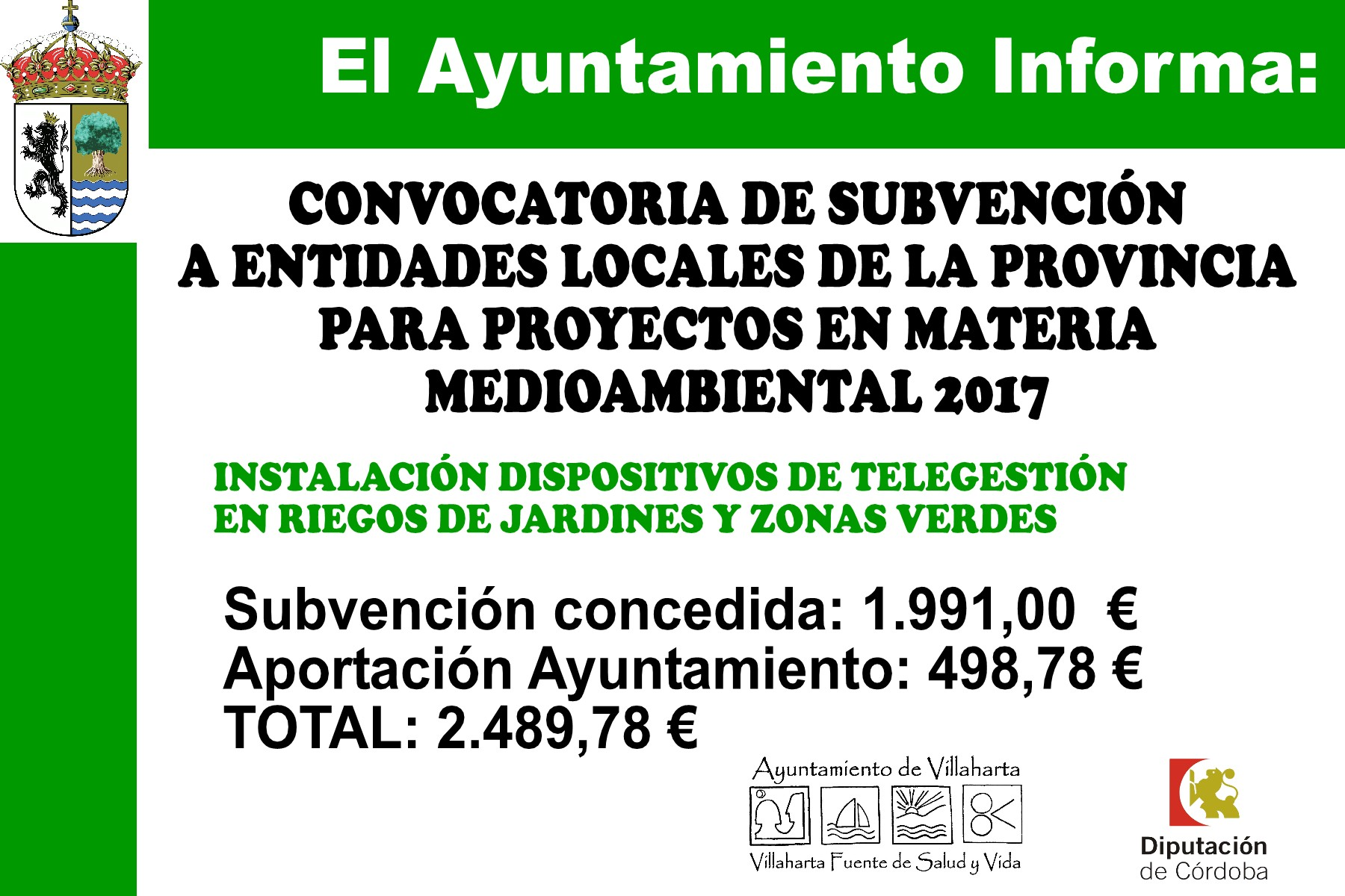 SUBVENCIONES RECIBIDAS. 2017 23