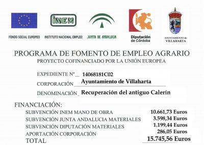 SUBVENCIONES RECIBIDAS. 2018 20