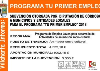 SUBVENCIONES RECIBIDAS. 2018 24