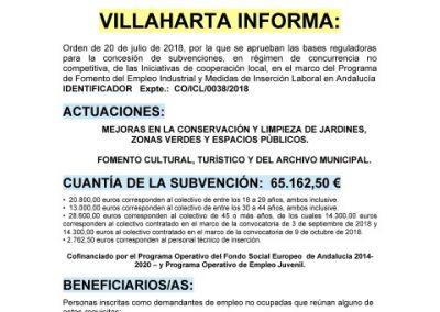 SUBVENCIONES RECIBIDAS. 2018 30
