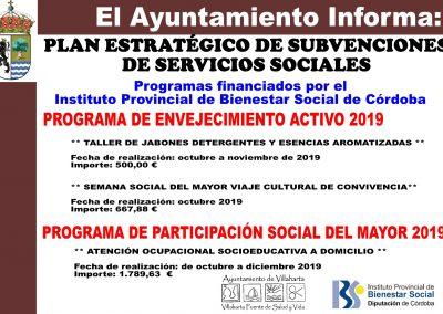 SUBVENCIONES RECIBIDAS 2019 1