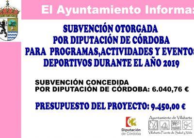 SUBVENCIONES RECIBIDAS 2019 3