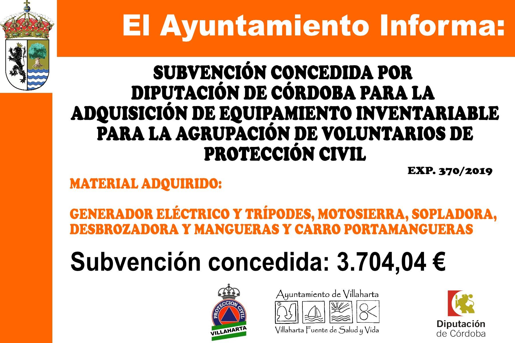 SUBVENCIONES RECIBIDAS 2019 18