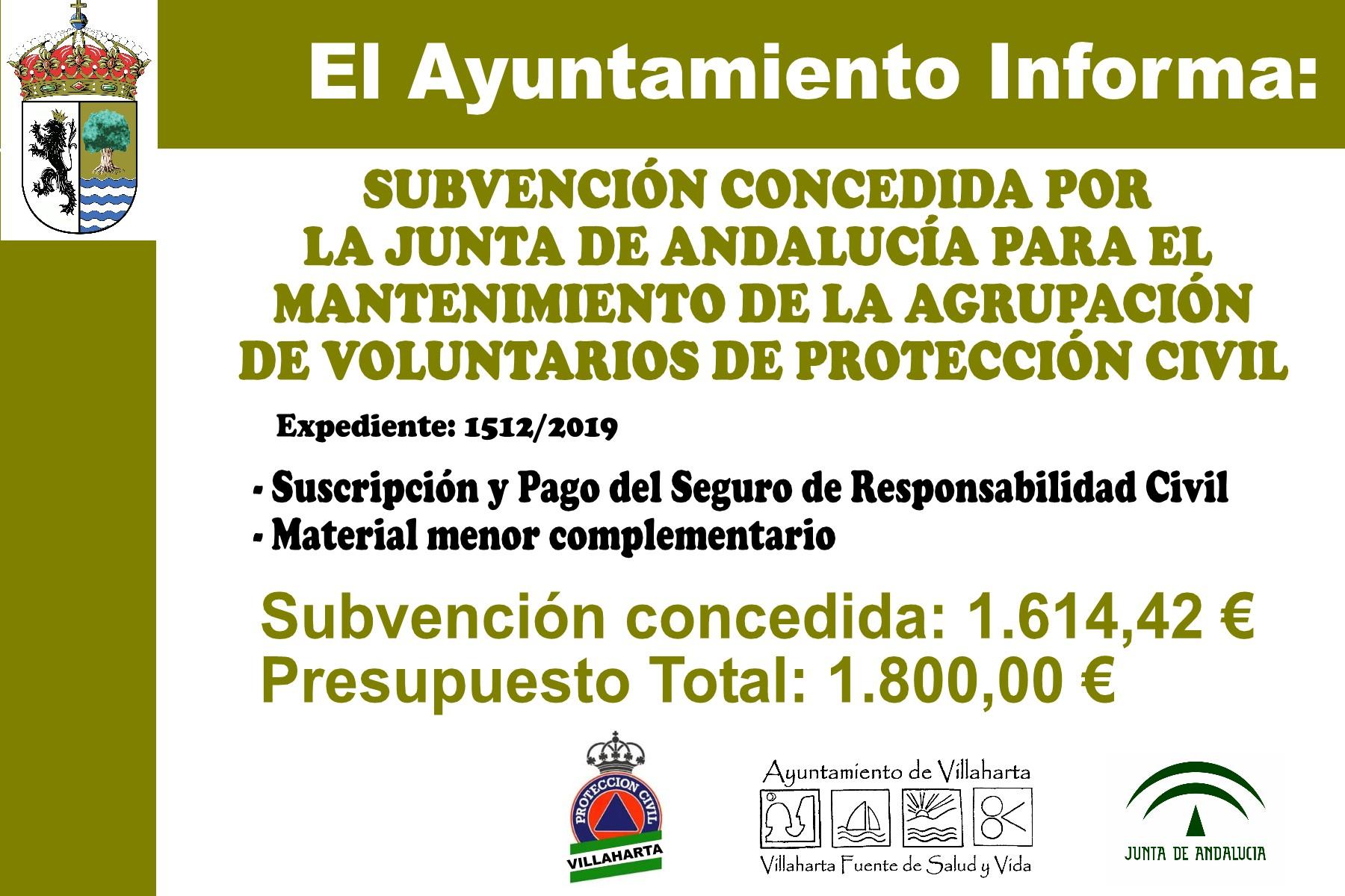 SUBVENCIONES RECIBIDAS 2019 19