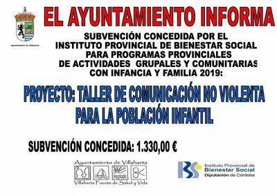 SUBVENCIONES RECIBIDAS 2019 26