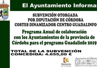 SUBVENCIONES RECIBIDAS 2019 23
