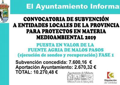 SUBVENCIONES RECIBIDAS 2019 25