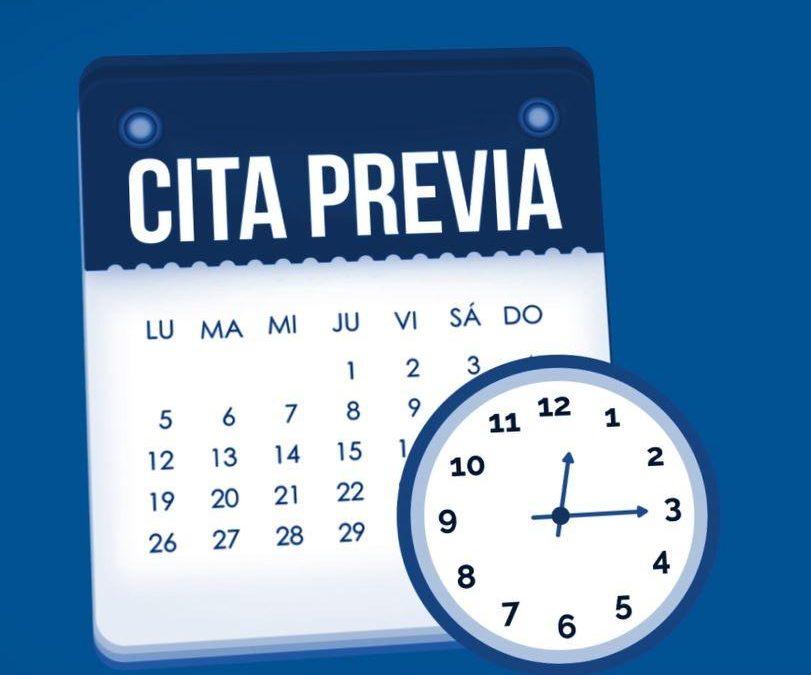 Cita previa – Servicio de Información y Atención a la Ciudadanía