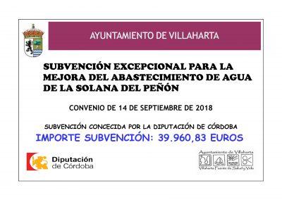 SUBVENCIONES RECIBIDAS. 2018 33