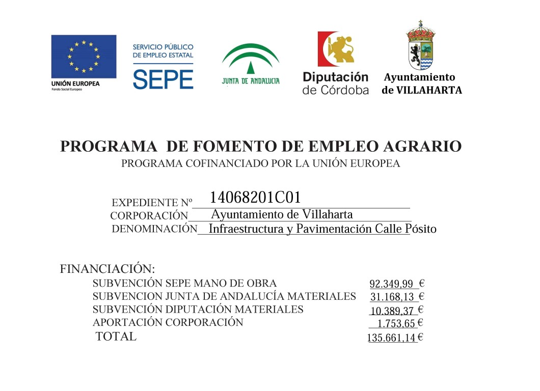 PROGRAMA DE FOMENTO DEL EMPLEO AGRARIO 1