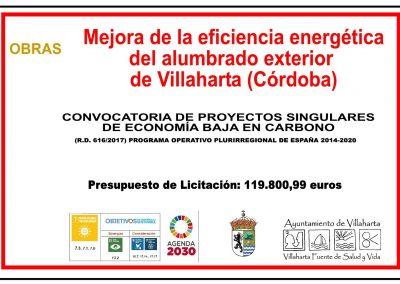MEJORA DE LA EFICIENCIA DEL ALUMBRADO EXTERIOR 1