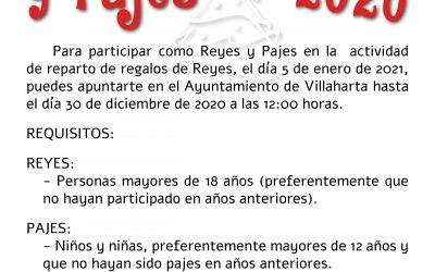 ELECCIÓN DE REYES MAGOS Y PAJES