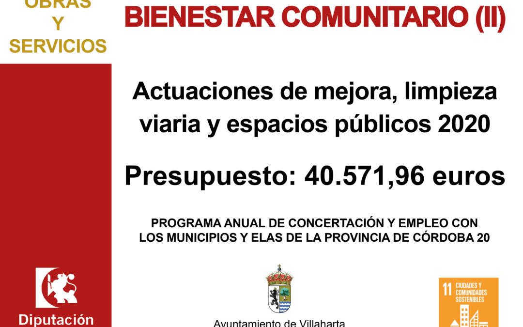 INFORMACIÓN DE SUBVENCIONES RECIBIDAS DE DIPUTACIÓN DE CÓRDOBA